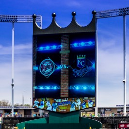 Photo Gallery – Twins at Royals – 4/19/2014